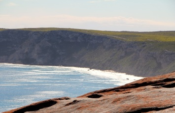 Looking west from Remarkable Rocks, Flinders Chase National Park