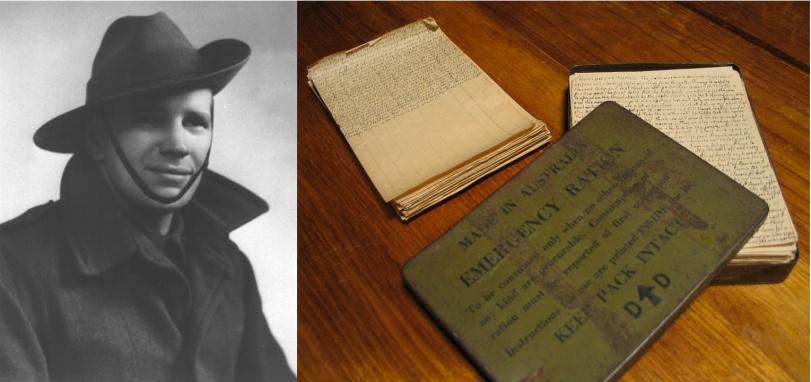 Richard Churchill, Diary New Guinea 1943-44